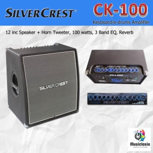 Harga silvercrest ck100 amplifier keyboard ck 100 ck 100 speaker | HARGALOKA.COM