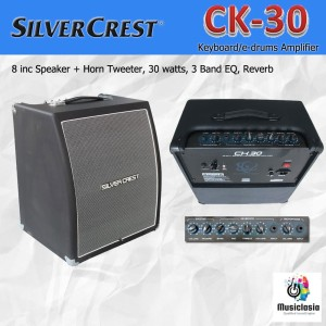 Harga silvercrest ck30 amplifier keyboard ck 30 speaker ampli drum | HARGALOKA.COM