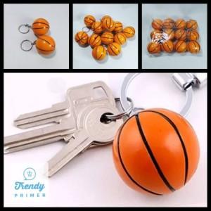 Harga gantungan kunci bola basket isi 12 pcs | HARGALOKA.COM