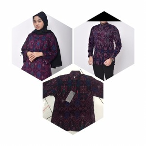 Harga baju batik couple keluarga baju batik terbaru baju batik | HARGALOKA.COM