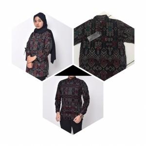 Harga baju batik couple baju batik ibu ayah anak baju batik | HARGALOKA.COM