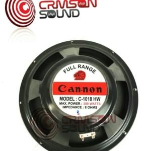 Harga speaker canon full range 10 inch origal 300 | HARGALOKA.COM