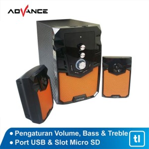Harga speaker aktif advance m310bt bluetooth speaker aktif | HARGALOKA.COM