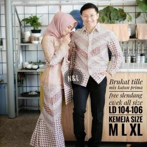 Harga setelan kebaya kebaya couple baju couple pesta sarimbit batik   | HARGALOKA.COM