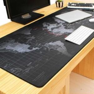 Harga mouse pad gaming desk mat motif peta | HARGALOKA.COM