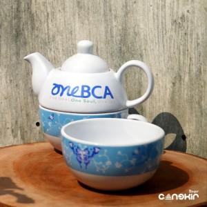 Harga teko susun souvenir perusahaan souvenir bank teko   HARGALOKA.COM