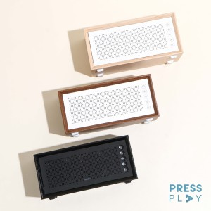 Harga oneder v2 wooden bluetooth speaker wireless retro vintage   oak | HARGALOKA.COM