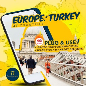 Harga 15 day 9gb europe schengen russia balkan east europe 4g sim card   up masa | HARGALOKA.COM