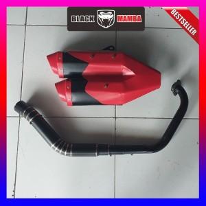 Harga knalpot model ori cbr250rr merah cbr150 r15 gsxr150 vixion xabre | HARGALOKA.COM