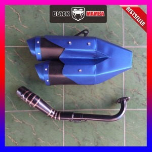 Harga knalpot model ori cbr250rr biru nmax aerox vario pcx 150 mio beat | HARGALOKA.COM