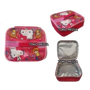 Harga tas bekal lunch bag anak aluminium foil bintik premium hello | HARGALOKA.COM