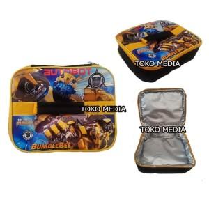 Harga tas bekal lunch bag anak aluminium foil bintik premium | HARGALOKA.COM