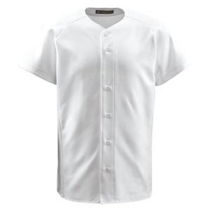 Harga baju jersey baseball softball descente std1900t std0821t   putih | HARGALOKA.COM