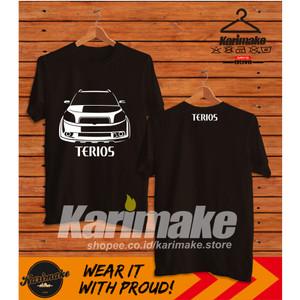 Harga kaos mobil daihatsu terios kaos otomotif | HARGALOKA.COM