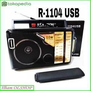 Harga asatron radio r 1104 am fm sw portable usb mp3 music | HARGALOKA.COM