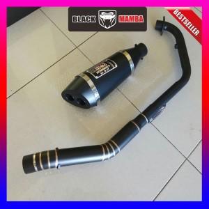 Harga knalpot yoshimura r11 black doff cbr150 r15 vixion cb150 xabre | HARGALOKA.COM