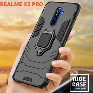 Harga realme x2 pro case hybrid ring stand panther | HARGALOKA.COM