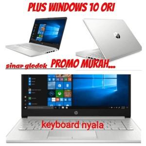 Harga promo laptop hp 14s amd a4 ram 8gb ssd 256gb vga amd radeon | HARGALOKA.COM