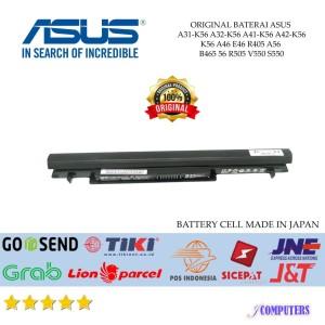Harga batre baterai asus original a46 a56 k46 k56 s40 s405 s46 s505 s56   HARGALOKA.COM