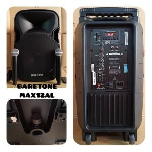 Harga speaker aktif portable baretone 12 inch bluetooth max12al max 12   HARGALOKA.COM