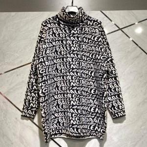 Harga sweater wanita balenciaga wave logo turtleneck 1 1 best quality   tanpa | HARGALOKA.COM