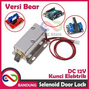 Harga selenoid door lock 12v dc kunci elektronik electric doorlock | HARGALOKA.COM
