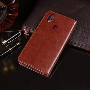 Harga leather case vivo v9 v7 v5 v7 v7plus plus sarung hp flip cover dompet   vivo v9   HARGALOKA.COM