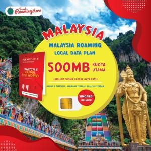 Harga 3 days sim card malaysia travel roaming 500mb data local | HARGALOKA.COM