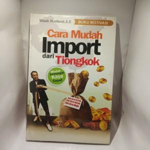 Harga buku cara mudah import dari   HARGALOKA.COM