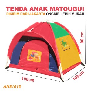 Harga tenda anak an8113 matougui camping jumbo outdoor tent kids 100x100cm   | HARGALOKA.COM