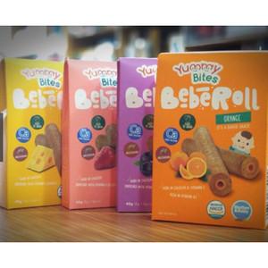 Harga yummy bites beberoll snack bayi biskuit bayi 40 g   | HARGALOKA.COM