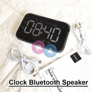 Harga vivan clock bluetooth speaker led digital alarm clock vs | HARGALOKA.COM