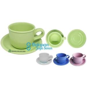 Harga cangkir cappucino latte 6pcs cangkir kopi teh set cup and | HARGALOKA.COM