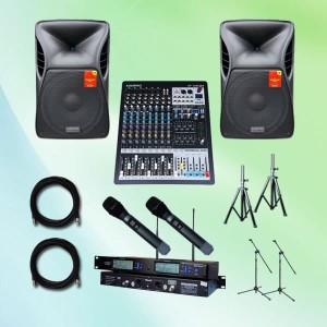 Harga paket sound system meeting ukuran sedang 1 auderpro berkualitas | HARGALOKA.COM