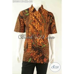 Harga kemeja batik pria gemuk lengan pendek motif bagus size xxl | HARGALOKA.COM
