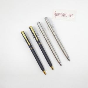 Harga pulpen metal insignia bisa cetak logo   matte black | HARGALOKA.COM