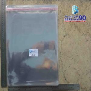 Harga plastik opp 23x33 cm 20 mic plastik baju plastik seal isi 100 | HARGALOKA.COM