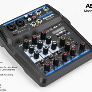 Harga mixer audio ashley speed up 4   bluetooth usb mp3 effect | HARGALOKA.COM