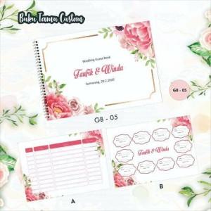 7 Harga Wedding Guest Book Murah Terbaru 2020 Katalog Or Id