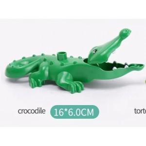 Harga duplo animal buaya crocodille binatang hewan lego minifigure | HARGALOKA.COM