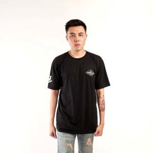 Harga kaos baju pakaian distro oblong tshirt pria cowo hitam | HARGALOKA.COM