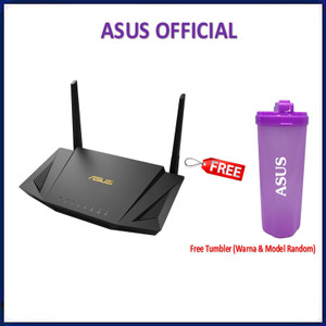 Harga asus rt ax56u wifi 6 dual band router ax1800 with aimesh rtax56u   | HARGALOKA.COM