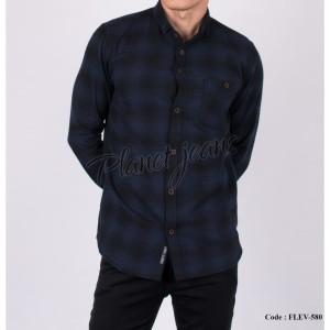 Harga kemeja flanel pria motif kotak hem flannel cowok slimfit   HARGALOKA.COM