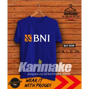 Harga kaos baju bank bni 46 bank negara indonesia kaos perusahaan     HARGALOKA.COM