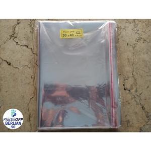 Harga plastik opp 30x40 cm tebal 20 mic plastik baju isi 100 | HARGALOKA.COM
