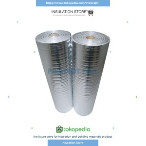 Harga aluminium foil foam 3 mm double side insulasi atap metalizing | HARGALOKA.COM