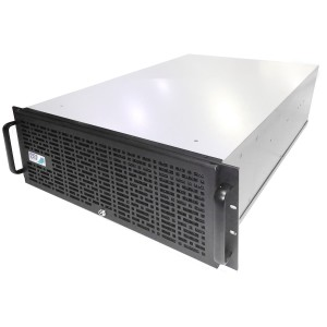 Harga ic4008   case rack 4u w 500watt atx modular 80 silver   HARGALOKA.COM