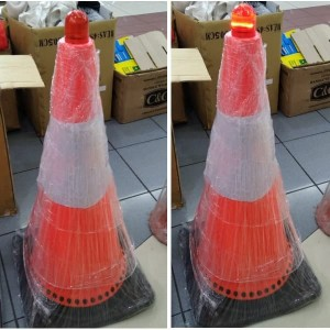 Info Lampu Safety Traffic Cone Kerucut Strobelight Automatic Warning Light Katalog.or.id