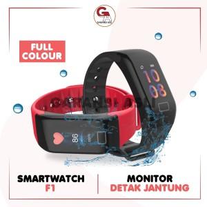 Harga smartwatch f1 bracelet import wristband untuk olahraga running fitnes   | HARGALOKA.COM
