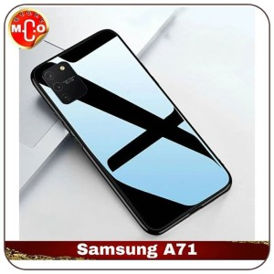 Harga samsung galaxy a71 glass shell type slim fit case casing cover hp   | HARGALOKA.COM